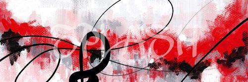 abstracto en rojos sp