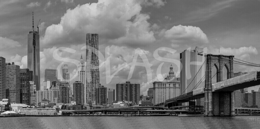 Cuadro en blanco y negro skyline de New York-SP287