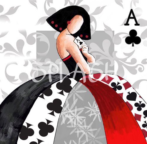 Cuadro menina moderna poker meninas modernas de cuadros splash - Cuadros de meninas modernos ...