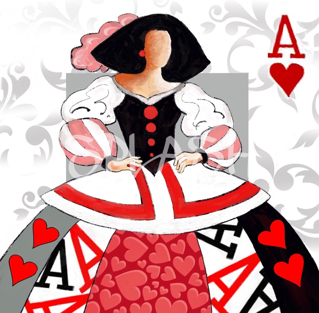 Menina moderna poker cuadros meninas tienda de cuadros - Cuadros de meninas modernos ...