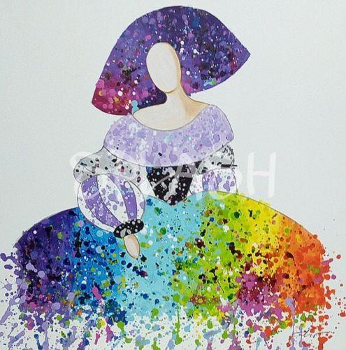 Cuadros de meninas modernas salpicada comprar cuadros modernos cuadros splash - Cuadros de meninas modernos ...