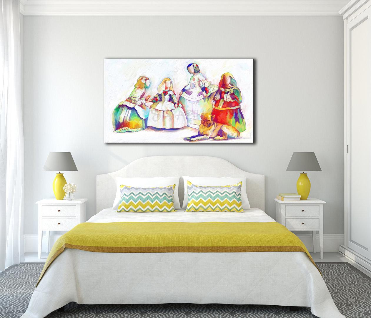 Cuadros abstractos para dormitorios cuadros para dormitorios de matrimonio with cuadros - Cuadros dormitorio matrimonio ...