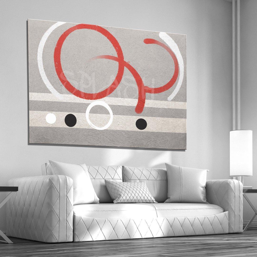 Tiendas de cuadros abstractos modernos online c rculos - Cuadros retroiluminados baratos ...
