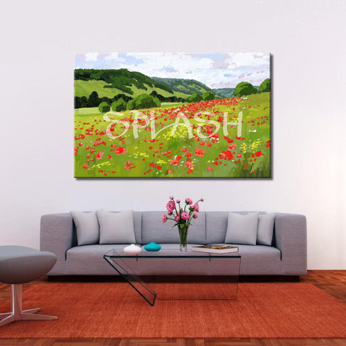 Poppy Field  Painting