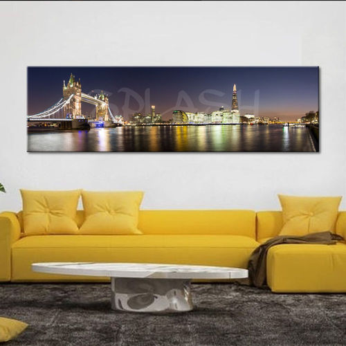 Skyline canvas London nightlife
