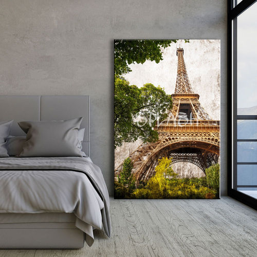 Eiffel Tower vertical painting