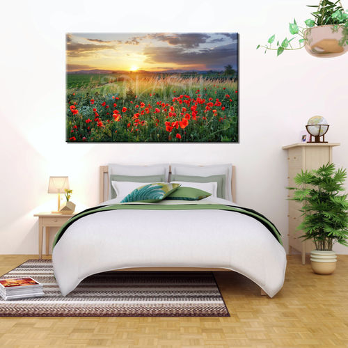 Flower Landscape Painting