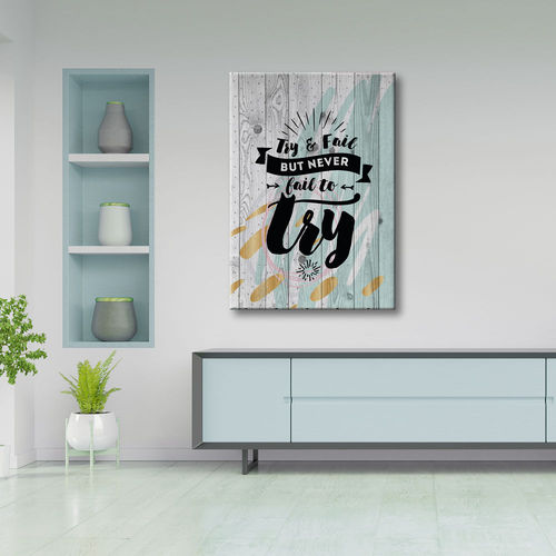 Phrase Vintage words painting