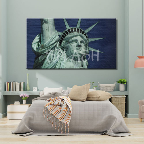 Pop Art Painting Statue of Liberty
