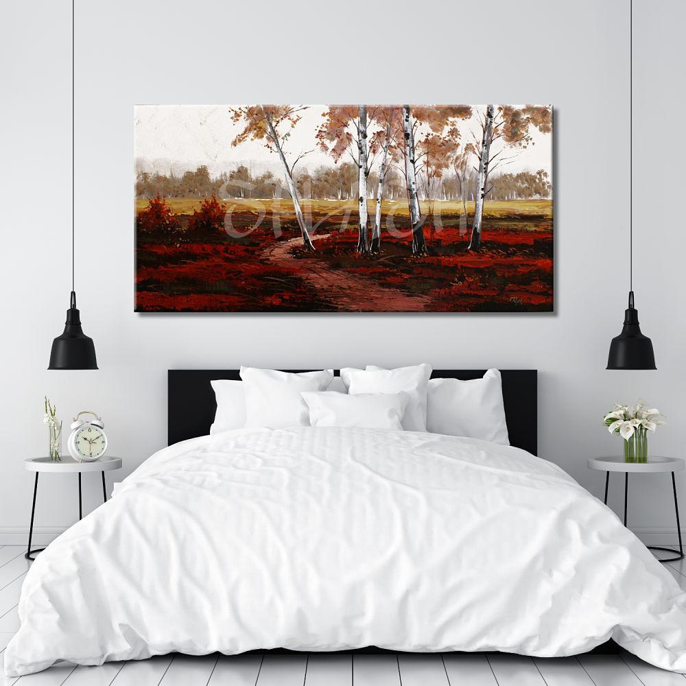 Paisaje sp483 tienda online de cuadros modernos pintados - Cuadros pintados a mano online ...
