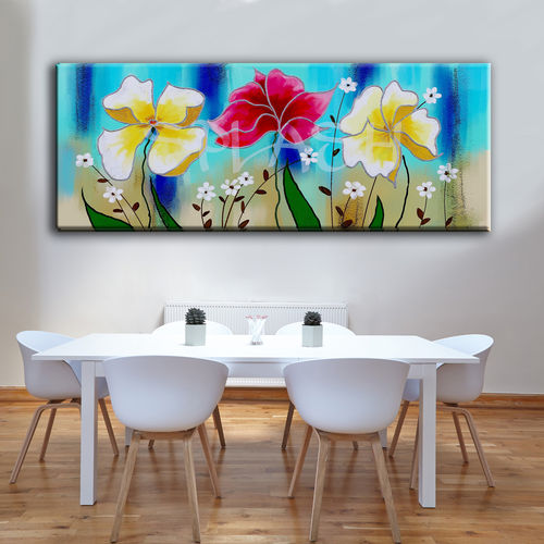 Cuadros De Flores Motivos Florales Pintados A Mano Cuadros Splash