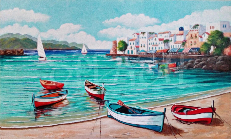 Cuadro marinero tienda de cuadros modernos de marinas for Cuadros de marinas
