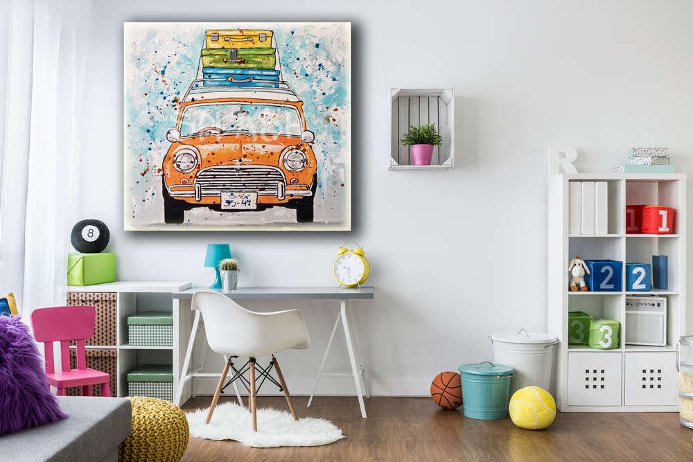 Cuadro coche Mini