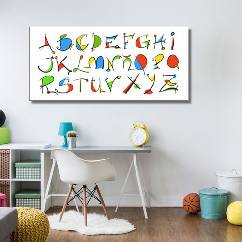 Cuadros Infantiles Y Juveniles Pintados E Impresoscuadros Splash - Cuadros-dormitorio-juvenil