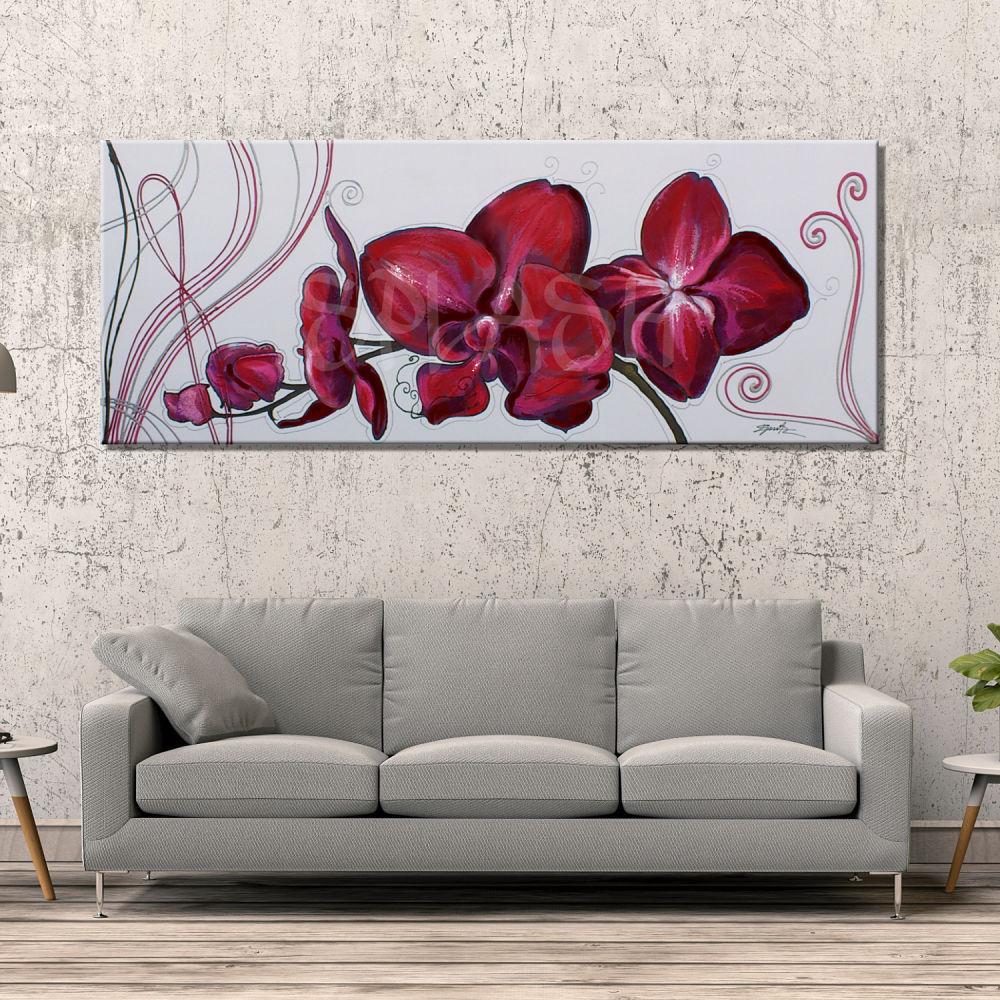 Orquideas rojas fotos