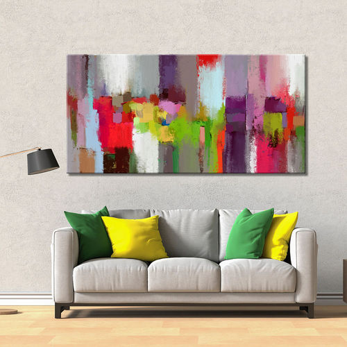 Abstract Painting Fantasy Color Splash
