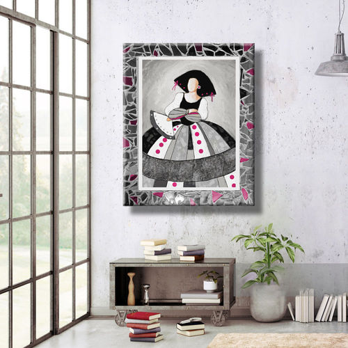 Menina Painting with Mirror Frame