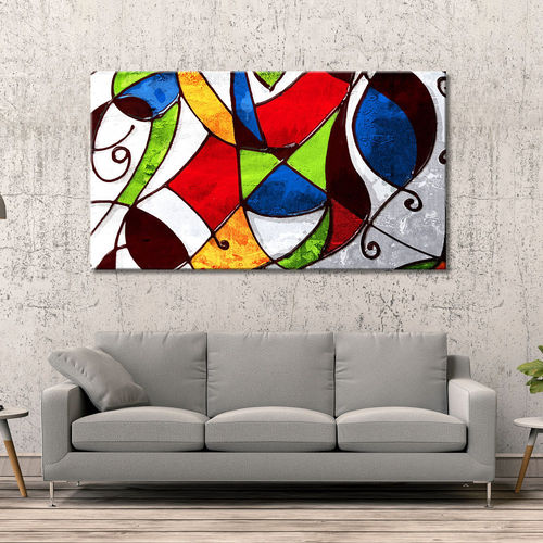 Colorful Geometric Abstract Picture