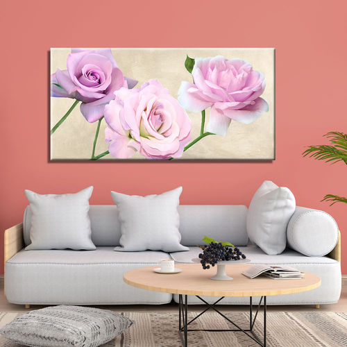 Picture of flowers with big roses