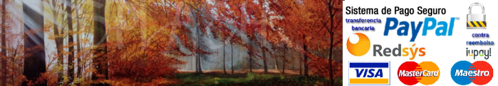 Paintings of country landscapes, trees, woods and logs painted by hand and printed on canvas to decorate living rooms and bedrooms